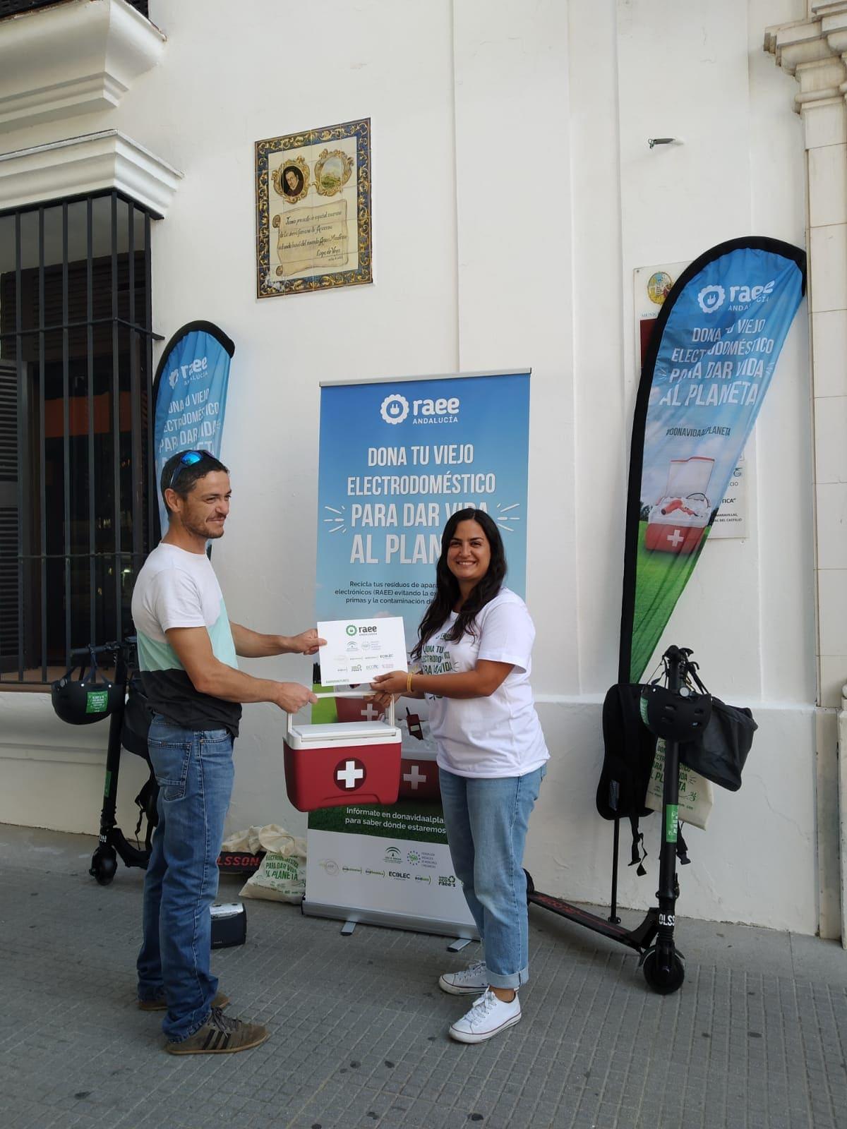 Dona Vida al Planeta en Aracena (Huelva)