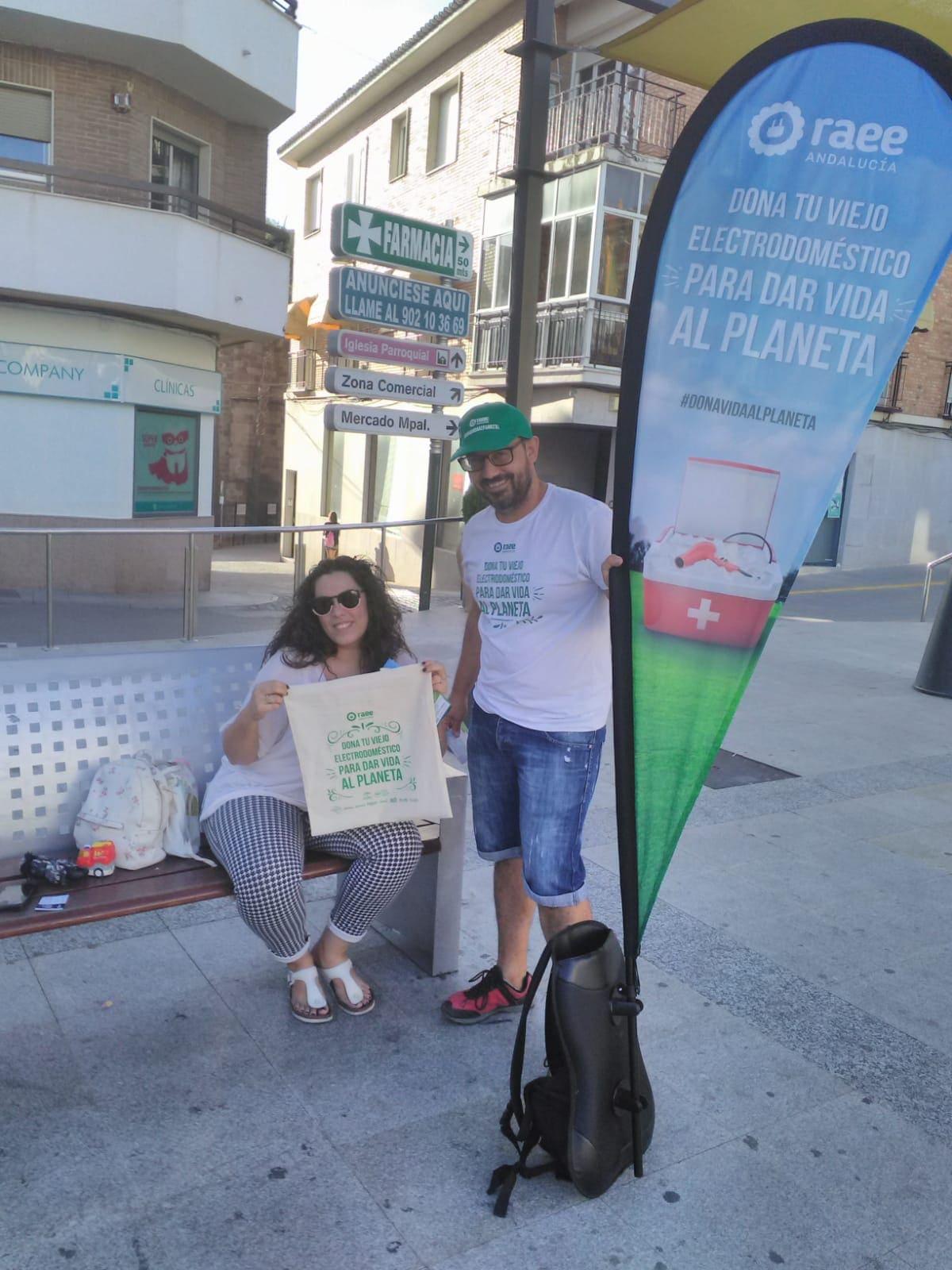 Dona Vida al Planeta en Bailén (Jaén)
